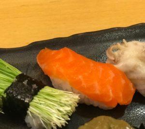 赤身トラウトのお寿司