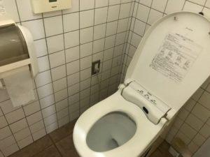 川場キングダムフィッシングのトイレ