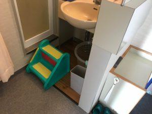 鴨川シーワールドホテルの洗面所