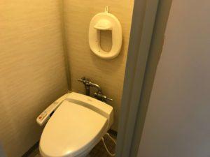 鴨川シーワールドホテルのトイレ
