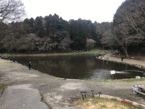ジョイバレーの1号池