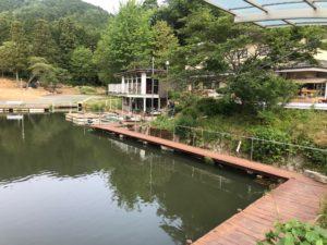 つくば園のルアー池