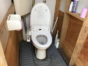 308clubのトイレ
