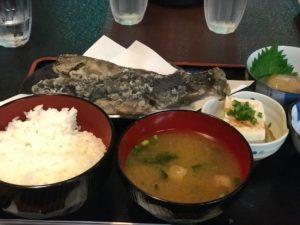 小菅トラウトガーデンのいわなやまめ定食