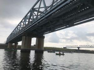 江戸川でボートハゼ釣り
