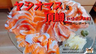 頂鱒(いただきます)&ヤシオマス 2大ブランドトラウト食べ比べ!